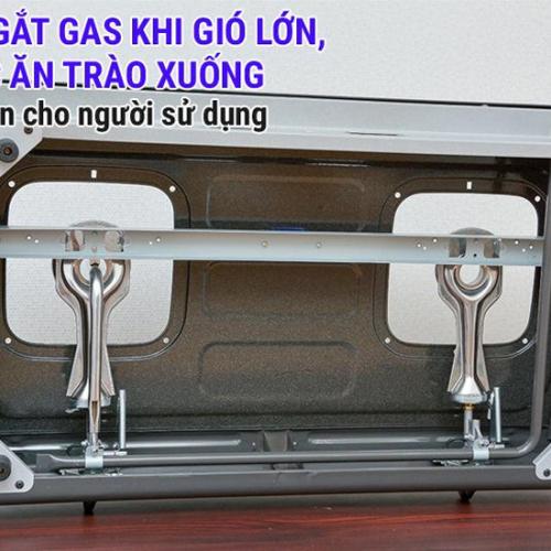 Bếp gas 7 tấc Rinnai RV-375G(N), Chén đồng có đầu hâm-5