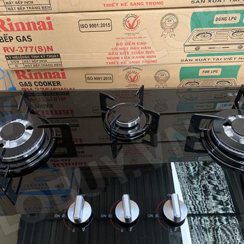 Bếp gas âm 3 lò Rinnai RVB-312BG, Đầu hâm ngắt gas tự động-2