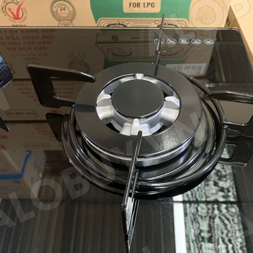 Bếp gas âm 3 lò Rinnai RVB-312BG, Đầu hâm ngắt gas tự động-1