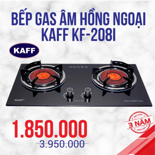 Bếp gas âm hồng ngoại KAFF KF-208I
