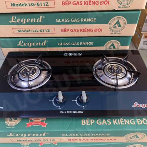Bếp gas âm Legend LG-611Z, Chén đồng nguyên khối-1