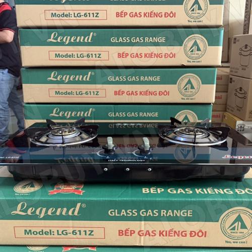 Bếp gas âm Legend LG-611Z, Chén đồng nguyên khối-3