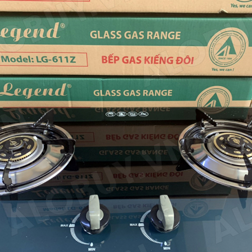 Bếp gas âm Legend LG-611Z, Chén đồng nguyên khối-4