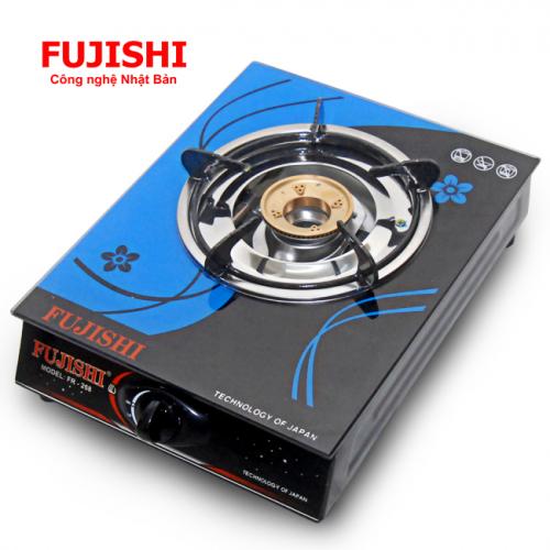 Bếp gas đơn chén đồng Fujishi FR-268D (Kính xanh)-2
