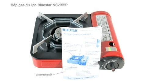 Bếp gas du lịch Bluestar NS-155P-5