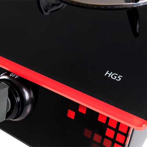 Bếp gas hồng ngoại Taka TK-HG5, Magneto 2 vòng lửa-5