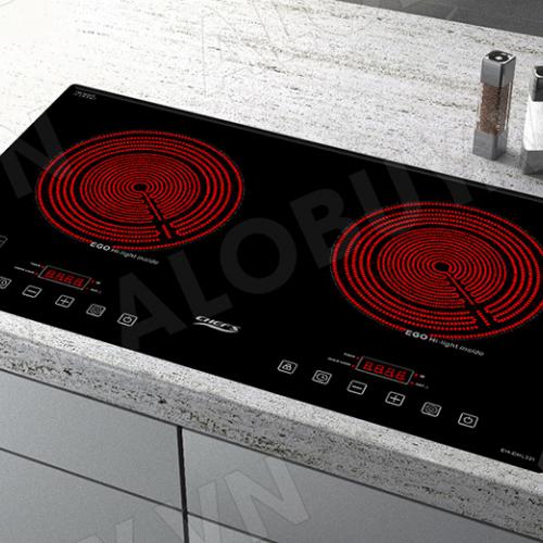 Bếp hồng ngoại đôi cảm ứng CHEFS EH-DHL321-2