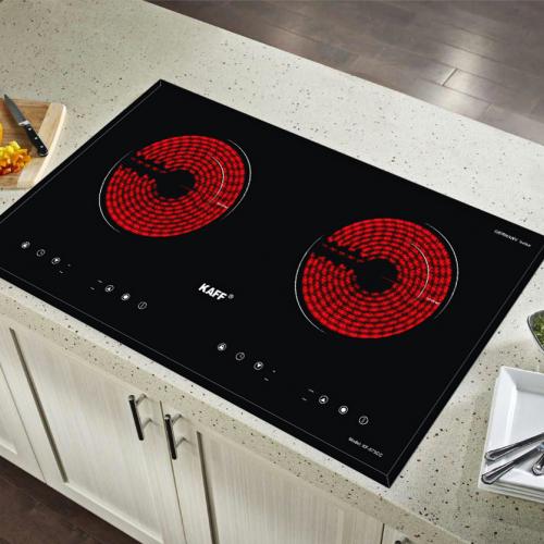 Bếp hồng ngoại đôi cảm ứng KAFF KF-073CC-2