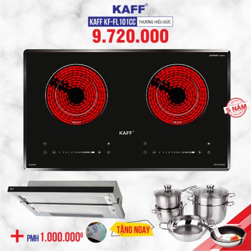Bếp hồng ngoại đôi cảm ứng KAFF KF-FL101CC