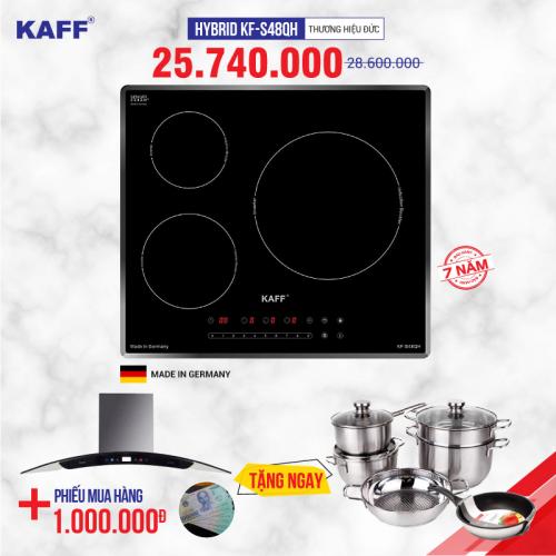 Bếp từ 3 lò cảm ứng KAFF HYBRID KF-S48QH