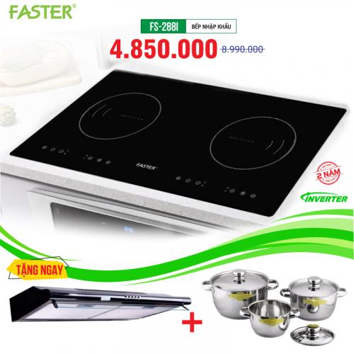 Bếp từ đôi cảm ứng FASTER FS-288I