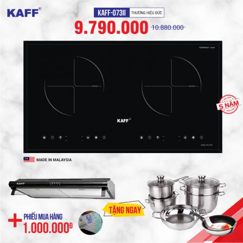 Bếp từ đôi cảm ứng KAFF KF-073II