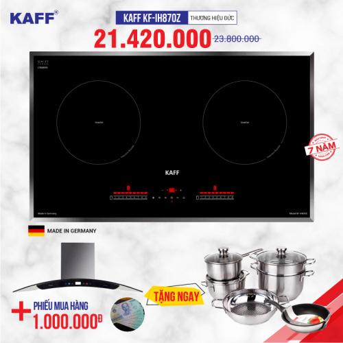 Bếp từ đôi cảm ứng KAFF KF-IH870Z