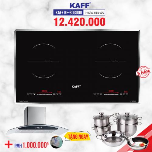 Bếp từ đôi cảm ứng KAFF KF-SD300II