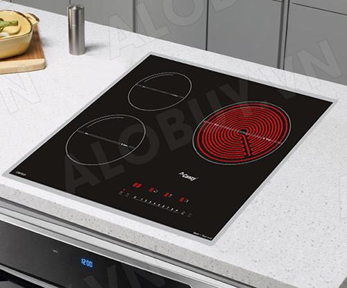 Bếp từ đôi hồng ngoại 3 lò cảm ứng CANZY CZ-67GHP-5
