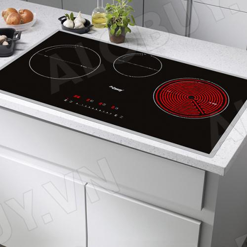 Bếp từ đôi hồng ngoại 3 lò cảm ứng CANZY CZ-67GP-3