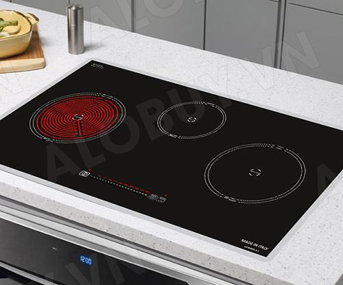 Bếp từ đôi hồng ngoại 3 lò cảm ứng CANZY CZ-BMIX75T-3