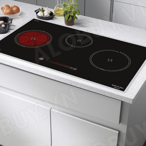 Bếp từ đôi hồng ngoại 3 lò cảm ứng CANZY CZ-BMIX75T-1