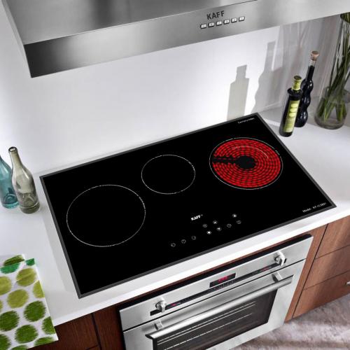 Bếp từ đôi hồng ngoại 3 lò cảm ứng KAFF KF-IC3801-3
