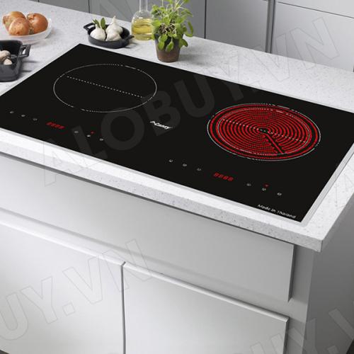 Bếp từ đôi hồng ngoại cảm ứng CANZY CZ-65BS-5