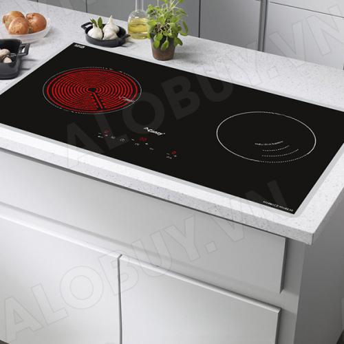 Bếp từ đôi hồng ngoại cảm ứng CANZY CZ-MIX823G-3