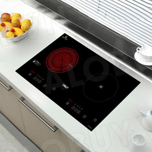 Bếp từ đôi hồng ngoại cảm ứng CHEFS EH-MIX2000A-1