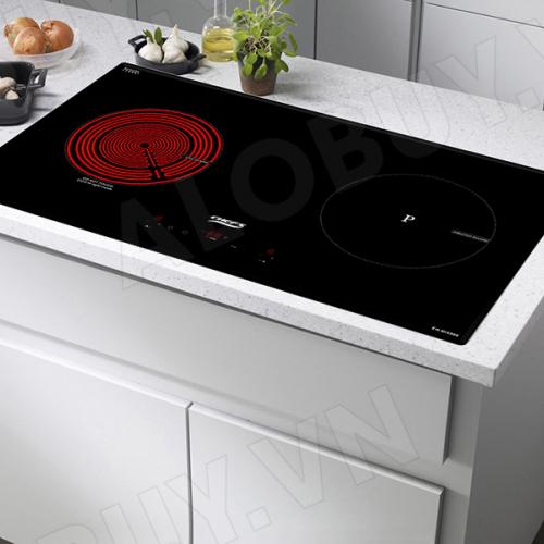 Bếp từ đôi hồng ngoại cảm ứng CHEFS EH-MIX866-3