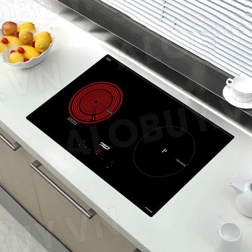 Bếp từ đôi hồng ngoại cảm ứng CHEFS EH-MIX866-2