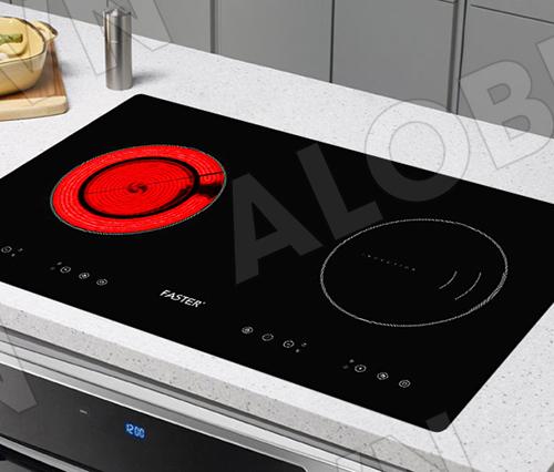 Bếp từ đôi hồng ngoại cảm ứng FASTER FS-288HI-5
