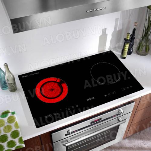 Bếp từ đôi hồng ngoại cảm ứng FASTER FS-668HI-2