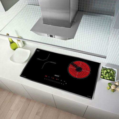 Bếp từ đôi hồng ngoại cảm ứng KAFF HYBRID KF-IH68N-3