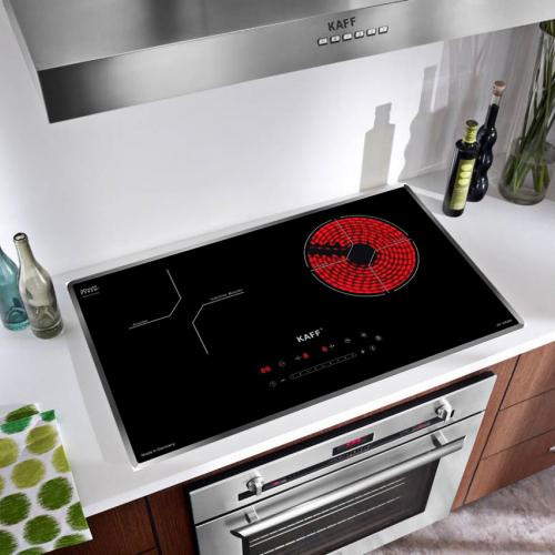 Bếp từ đôi hồng ngoại cảm ứng KAFF HYBRID KF-IH68N-1