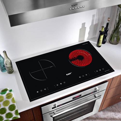 Bếp từ đôi hồng ngoại cảm ứng KAFF KF-073IC-1
