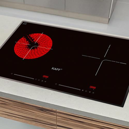 Bếp từ đôi hồng ngoại cảm ứng KAFF KF-FL68IC-4