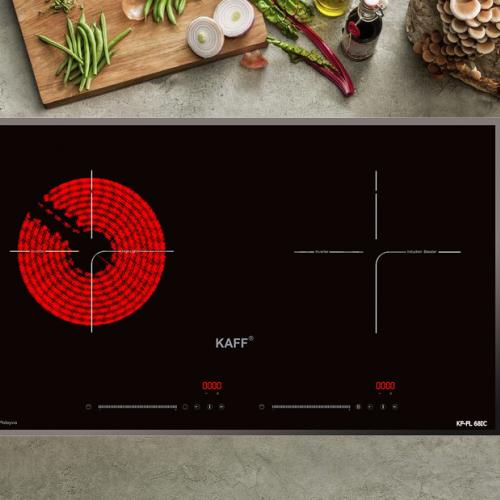 Bếp từ đôi hồng ngoại cảm ứng KAFF KF-FL68IC-1