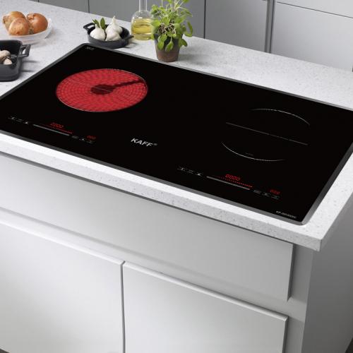 Bếp từ đôi hồng ngoại cảm ứng KAFF KF-SD300IC-4