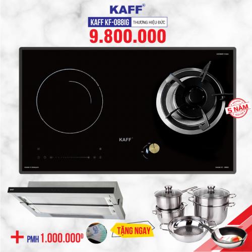 Bếp từ gas kết hợp 2 lò KAFF KF-088IG