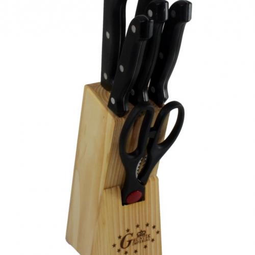 Bộ dao kéo làm bếp 7 món Chuanghui FE.01-004-1