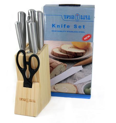 Bộ dao kéo làm bếp 8 món Bass IN.01-007