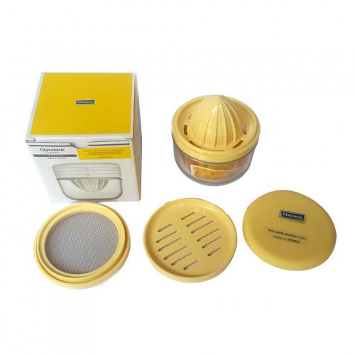 Bộ dụng cụ vắt cam và chế biến đồ ăn dặm cho bé Glasslock GL-1232-1