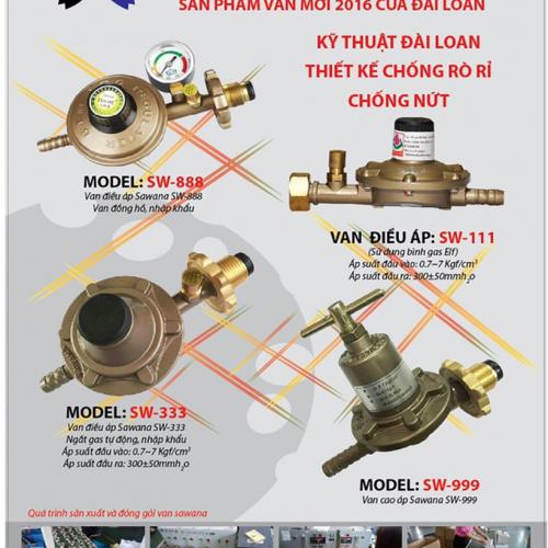 Bộ Van cao áp dùng bếp khè gas công nghiệp SAWANA SW-999-1