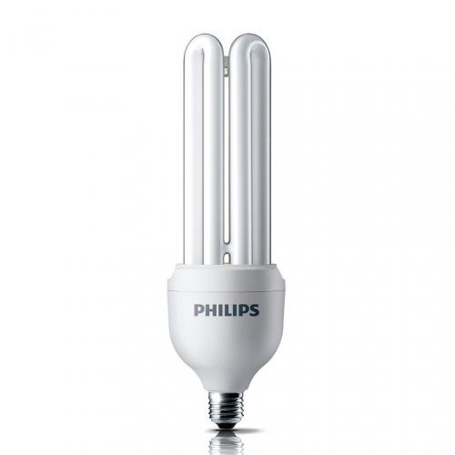 Bóng đèn Compact 3U tiết kiệm điện Philips Essential 18W 6500K E27 - Ánh sáng trắng-1