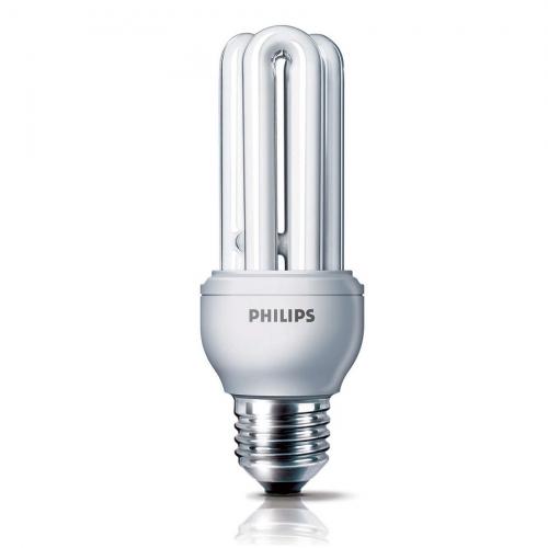 Bóng đèn Compact 3U tiết kiệm điện Philips Genie 11W 6500K E27 - Ánh sáng trắng-1
