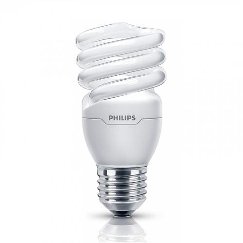 Bóng đèn Compact xoắn tiết kiệm điện Philips Tornado 12W 6500K E27- Ánh sáng trắng-1