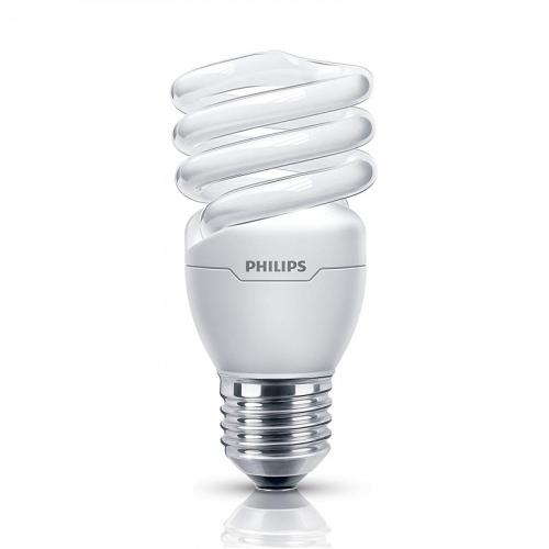 Bóng đèn Compact xoắn tiết kiệm điện Philips Tornado 20W 6500K E27- Ánh sáng trắng-1