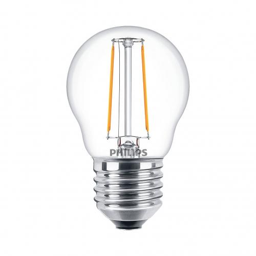 Bóng đèn Philips LED Classic 2W 2700K E27 P45 - Ánh sáng vàng-5