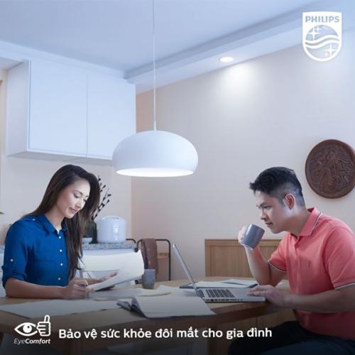 Bóng đèn Philips LED siêu sáng tiết kiệm điện Essential Gen4 5W E27 A60 - Ánh sáng vàng-4