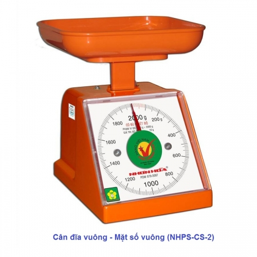 Cân nhựa đồng hồ Nhơn Hòa 2Kg-2