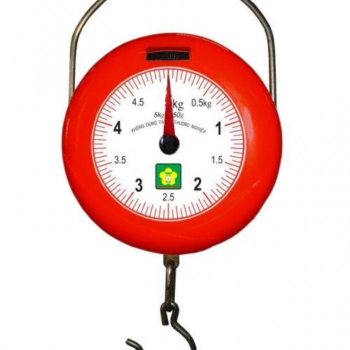 Cân treo mini bỏ túi Nhơn Hòa 5kg-1 Mặt số NHMGS-5-1
