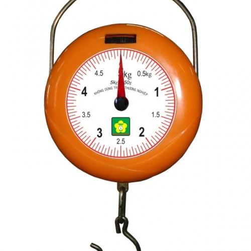 Cân treo mini bỏ túi Nhơn Hòa 5kg-1 Mặt số NHMGS-5-4